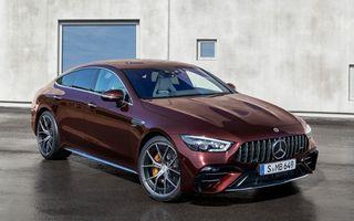 Mercedes-AMG GT 4-Door Coupe a primit o serie de îmbunătățiri