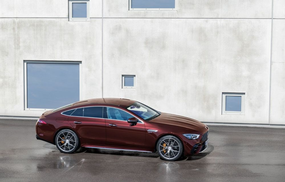 Mercedes-AMG GT 4-Door Coupe a primit o serie de îmbunătățiri - Poza 3