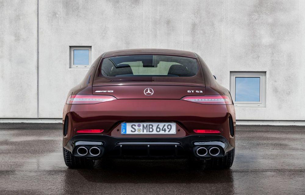 Mercedes-AMG GT 4-Door Coupe a primit o serie de îmbunătățiri - Poza 6