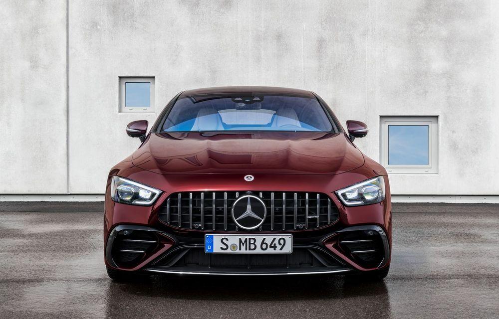 Mercedes-AMG GT 4-Door Coupe a primit o serie de îmbunătățiri - Poza 5