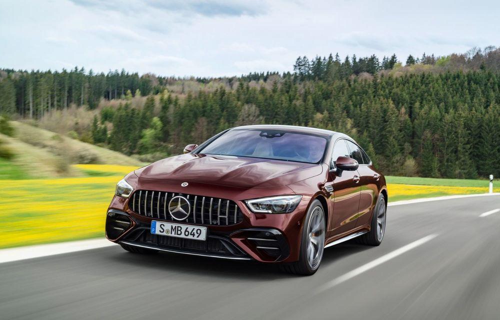 Mercedes-AMG GT 4-Door Coupe a primit o serie de îmbunătățiri - Poza 10