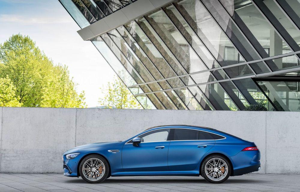 Mercedes-AMG GT 4-Door Coupe a primit o serie de îmbunătățiri - Poza 13