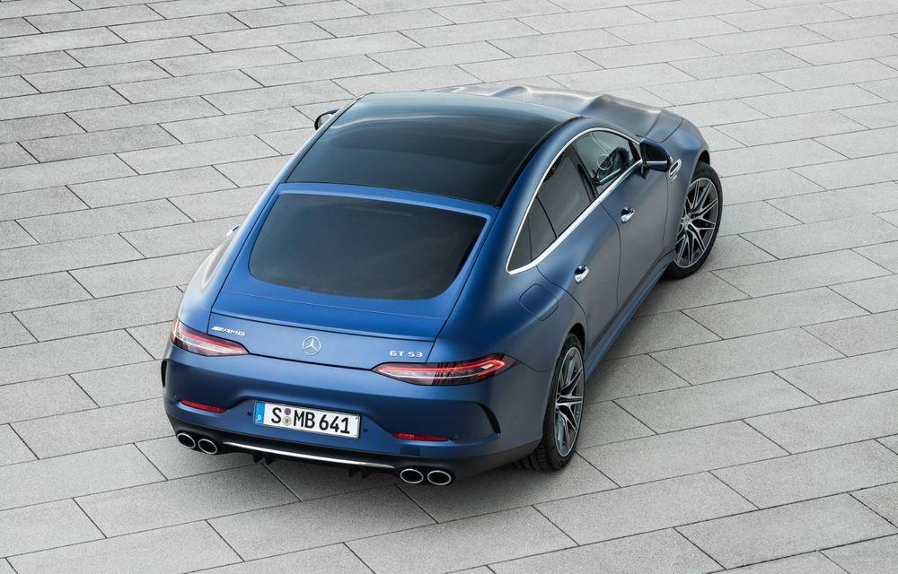Mercedes-AMG GT 4-Door Coupe a primit o serie de îmbunătățiri - Poza 15