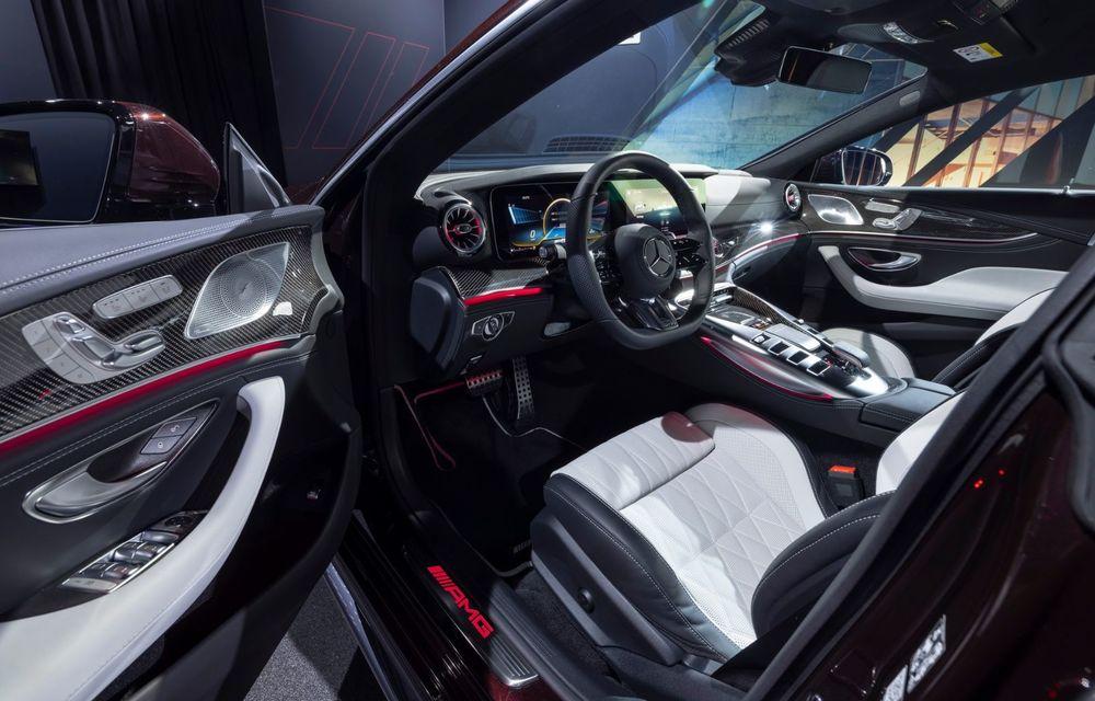 Mercedes-AMG GT 4-Door Coupe a primit o serie de îmbunătățiri - Poza 22