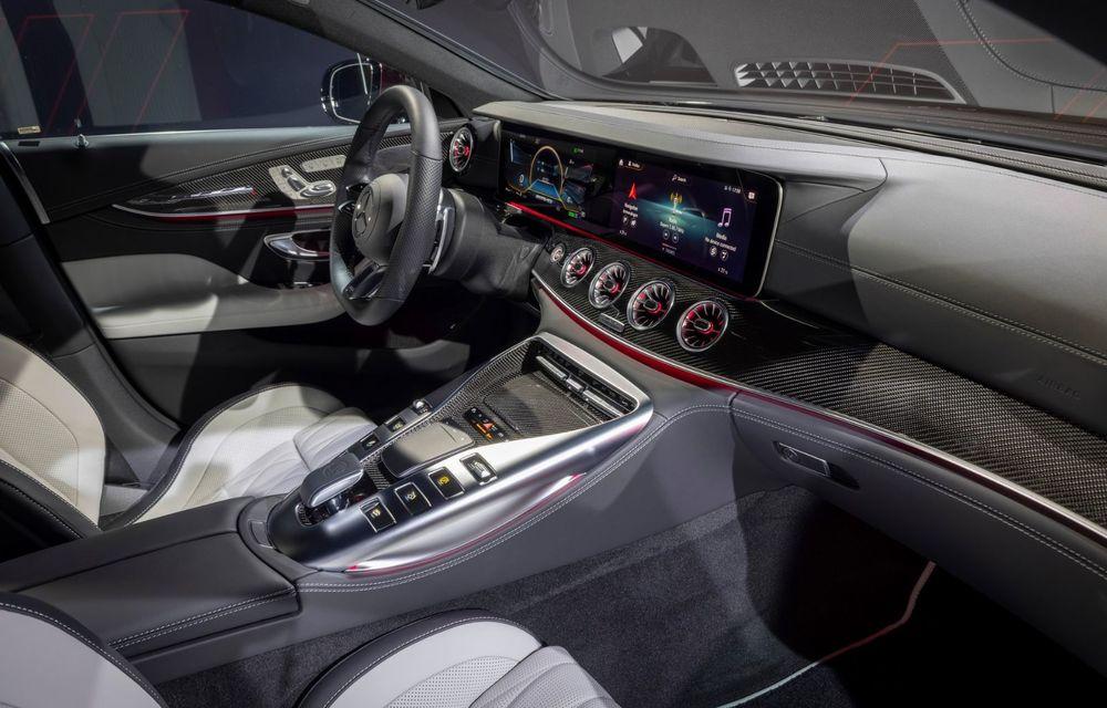 Mercedes-AMG GT 4-Door Coupe a primit o serie de îmbunătățiri - Poza 23