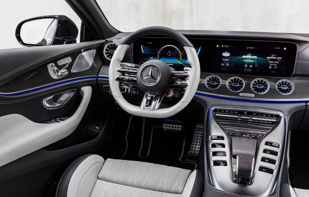 Mercedes-AMG GT 4-Door Coupe a primit o serie de îmbunătățiri - Poza 20