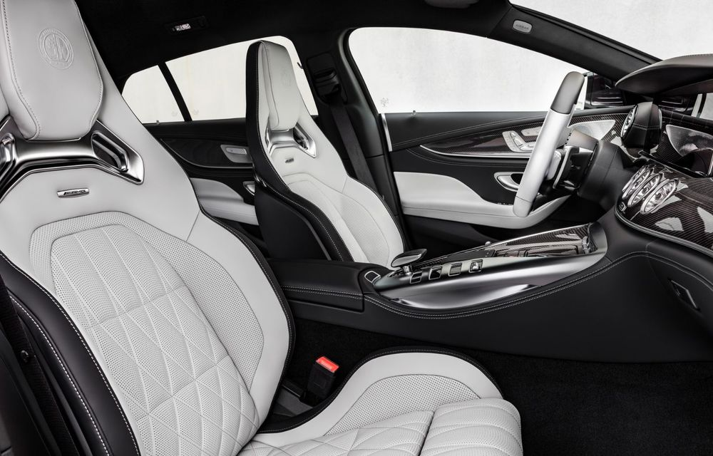 Mercedes-AMG GT 4-Door Coupe a primit o serie de îmbunătățiri - Poza 24