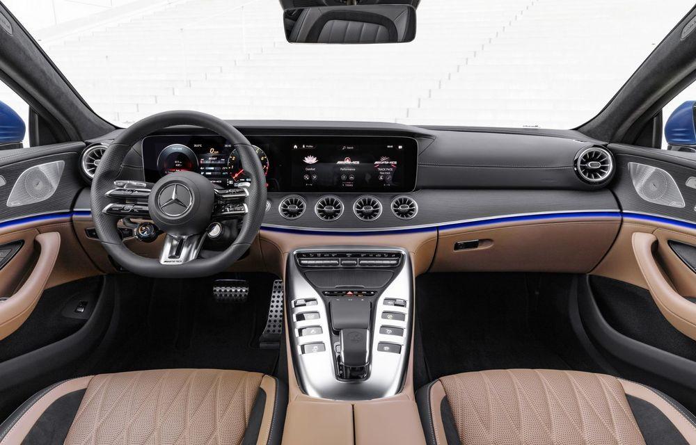 Mercedes-AMG GT 4-Door Coupe a primit o serie de îmbunătățiri - Poza 21