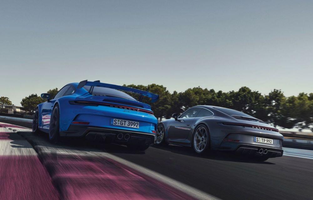 Noul Porsche 911 GT3 Touring: aceiași 510 CP, dar fără eleron supradimensionat - Poza 3