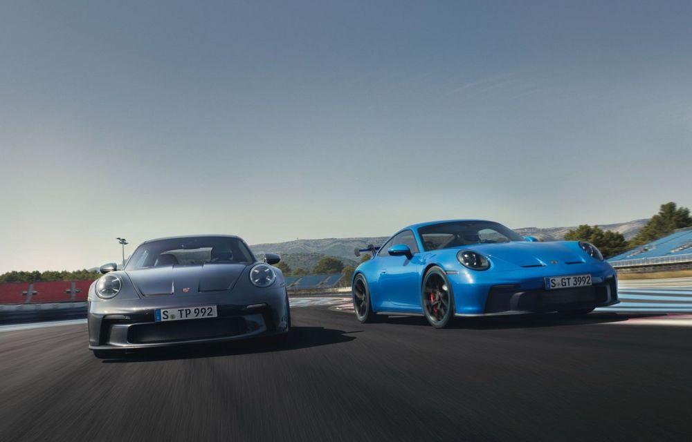 Noul Porsche 911 GT3 Touring: aceiași 510 CP, dar fără eleron supradimensionat - Poza 2