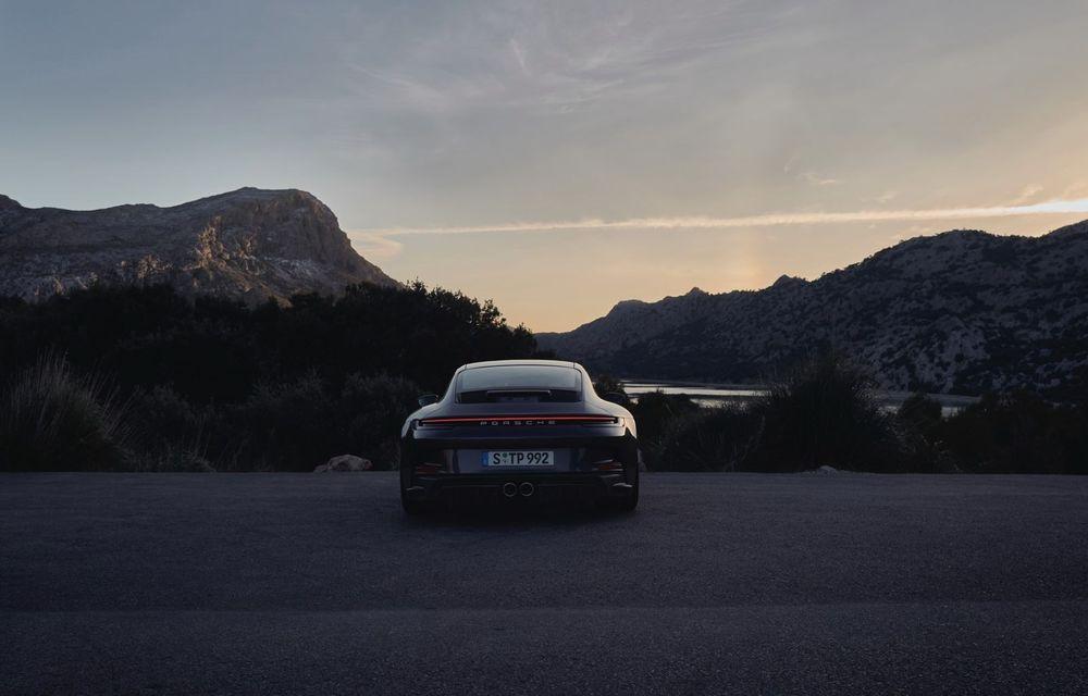 Noul Porsche 911 GT3 Touring: aceiași 510 CP, dar fără eleron supradimensionat - Poza 16