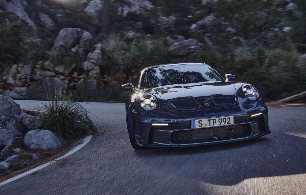 Noul Porsche 911 GT3 Touring: aceiași 510 CP, dar fără eleron supradimensionat - Poza 4