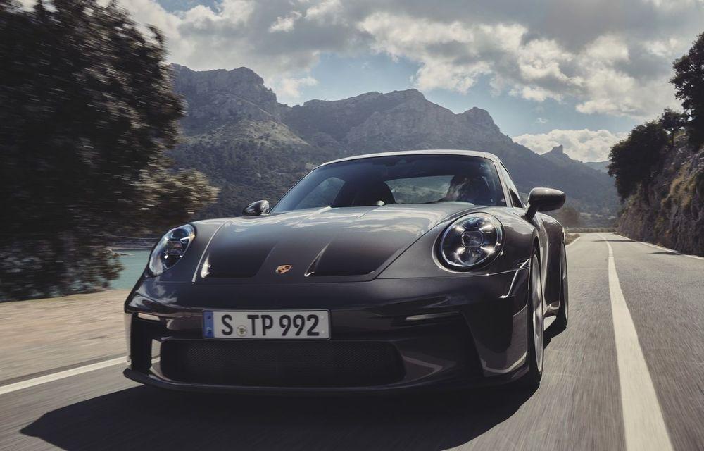 Noul Porsche 911 GT3 Touring: aceiași 510 CP, dar fără eleron supradimensionat - Poza 5