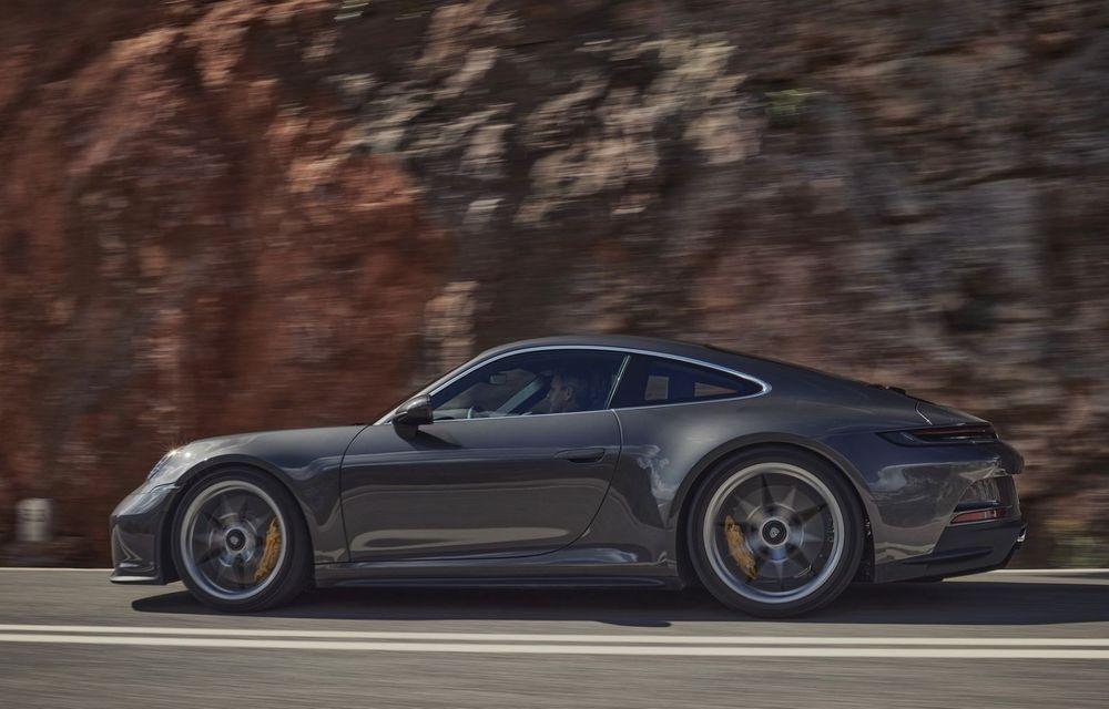 Noul Porsche 911 GT3 Touring: aceiași 510 CP, dar fără eleron supradimensionat - Poza 7