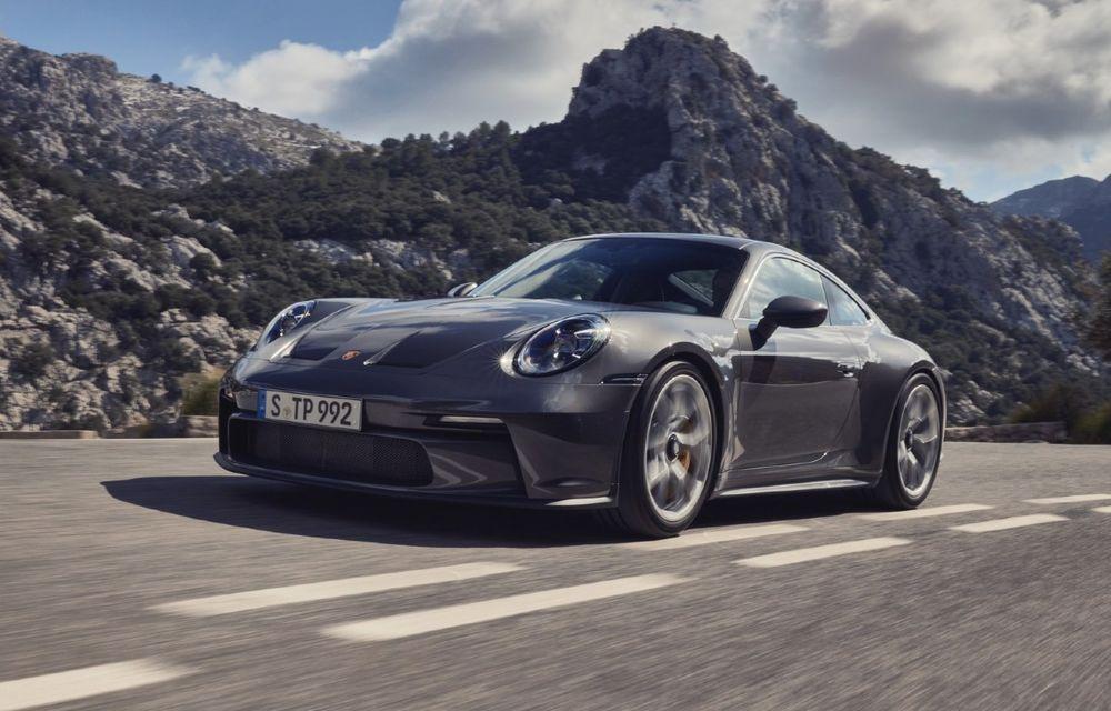 Noul Porsche 911 GT3 Touring: aceiași 510 CP, dar fără eleron supradimensionat - Poza 1