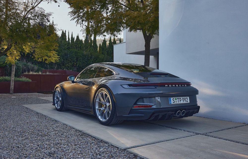 Noul Porsche 911 GT3 Touring: aceiași 510 CP, dar fără eleron supradimensionat - Poza 8