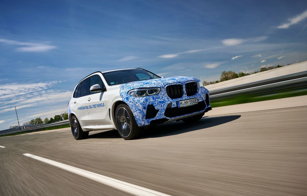 BMW a început testele cu prototipul i Hydrogen Next, un X5 electric alimentat cu hidrogen - Poza 3