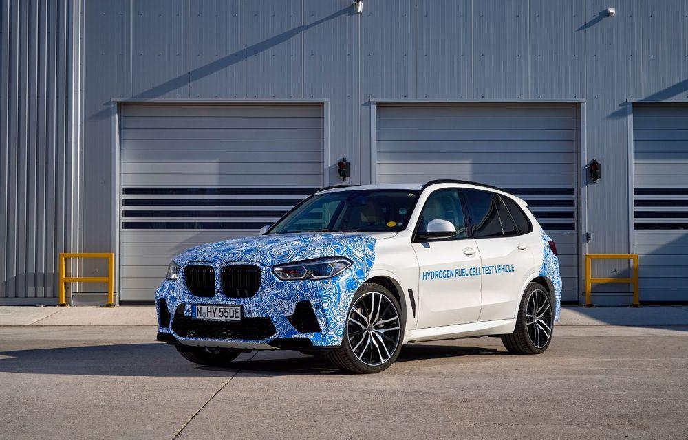 BMW a început testele cu prototipul i Hydrogen Next, un X5 electric alimentat cu hidrogen - Poza 1