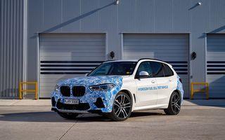 BMW a început testele cu prototipul i Hydrogen Next, un X5 electric alimentat cu hidrogen
