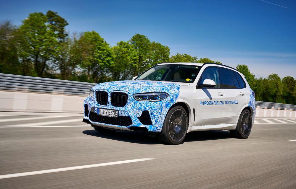 BMW a început testele cu prototipul i Hydrogen Next, un X5 electric alimentat cu hidrogen - Poza 4