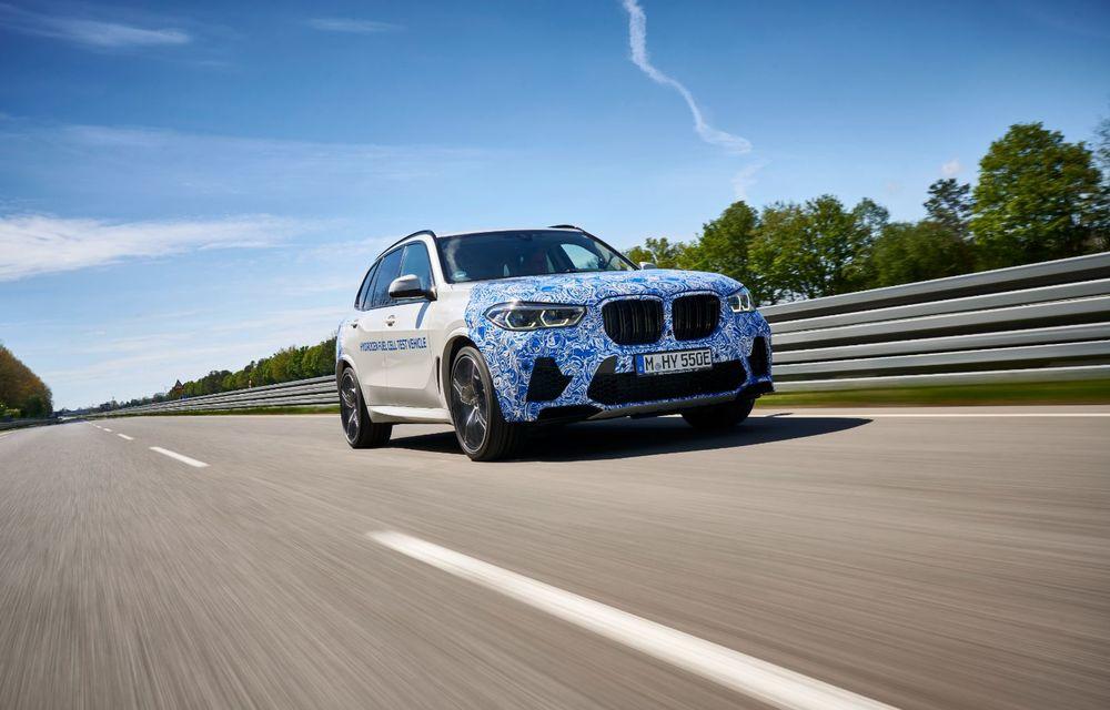 BMW a început testele cu prototipul i Hydrogen Next, un X5 electric alimentat cu hidrogen - Poza 5
