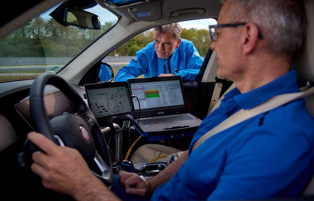 BMW a început testele cu prototipul i Hydrogen Next, un X5 electric alimentat cu hidrogen - Poza 17