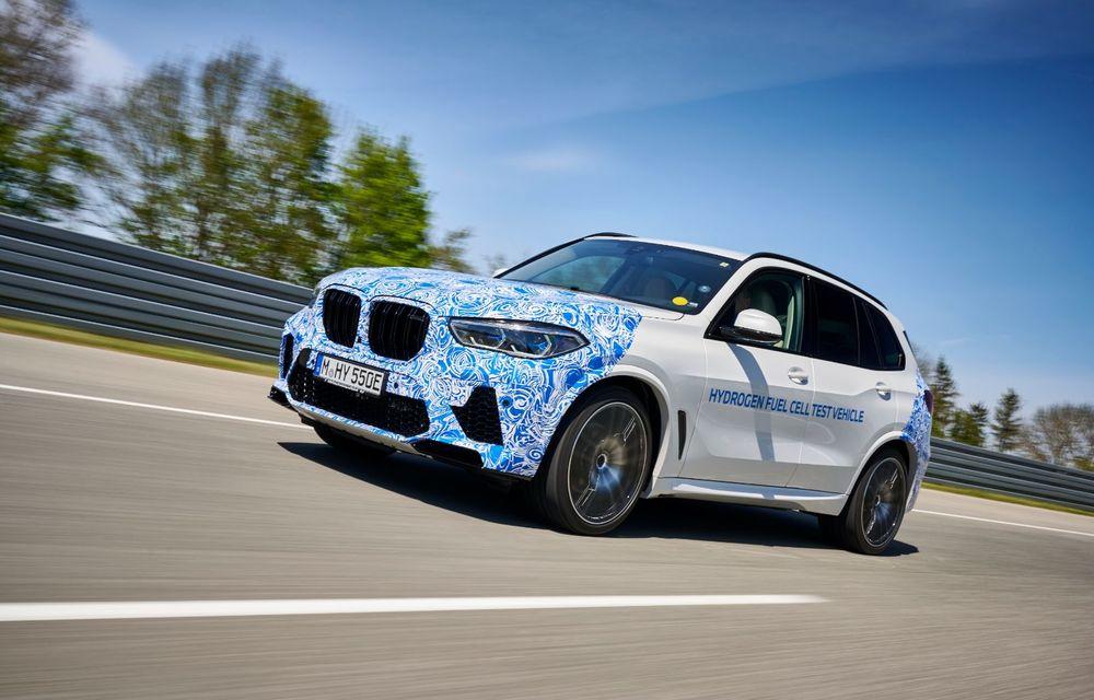 BMW a început testele cu prototipul i Hydrogen Next, un X5 electric alimentat cu hidrogen - Poza 6