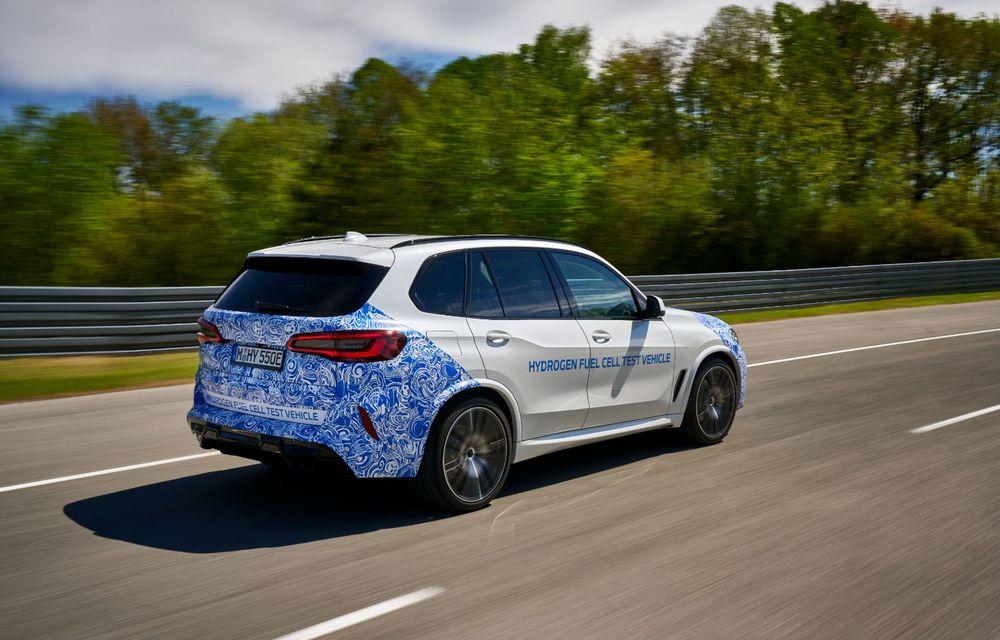 BMW a început testele cu prototipul i Hydrogen Next, un X5 electric alimentat cu hidrogen - Poza 7