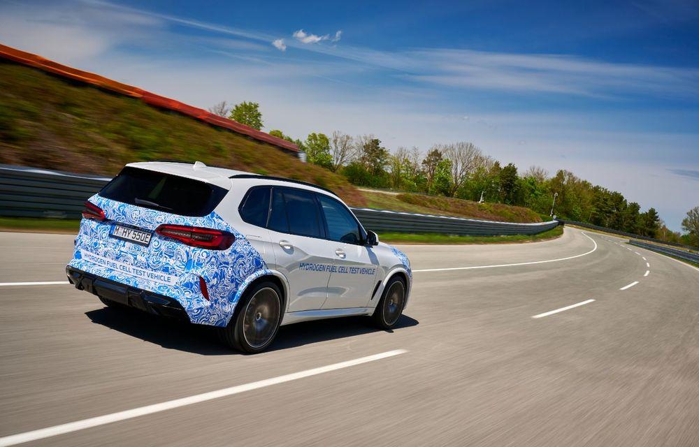 BMW a început testele cu prototipul i Hydrogen Next, un X5 electric alimentat cu hidrogen - Poza 8