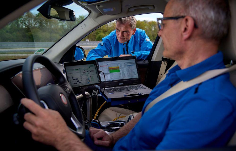 BMW a început testele cu prototipul i Hydrogen Next, un X5 electric alimentat cu hidrogen - Poza 19