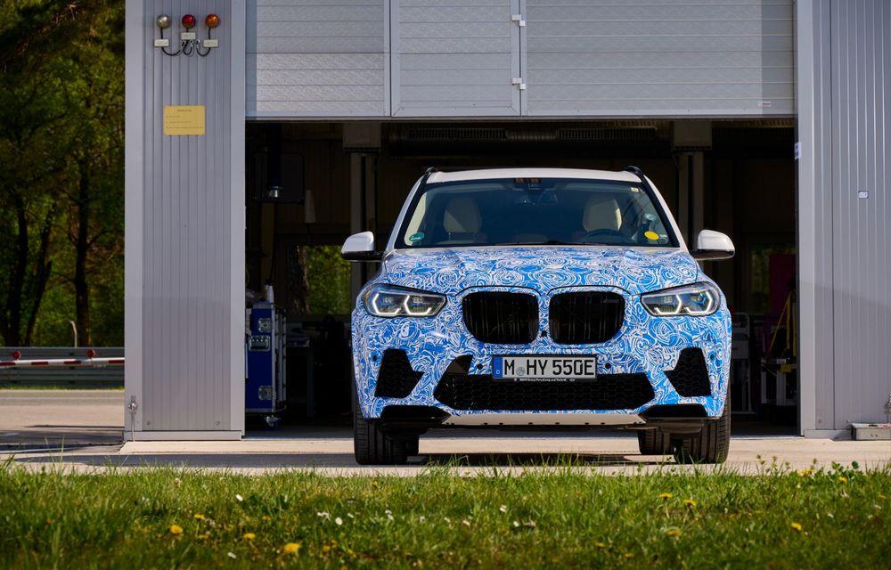 BMW a început testele cu prototipul i Hydrogen Next, un X5 electric alimentat cu hidrogen - Poza 9