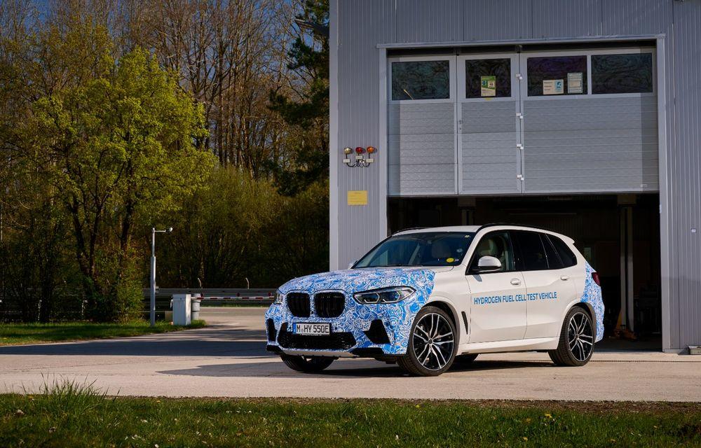 BMW a început testele cu prototipul i Hydrogen Next, un X5 electric alimentat cu hidrogen - Poza 10