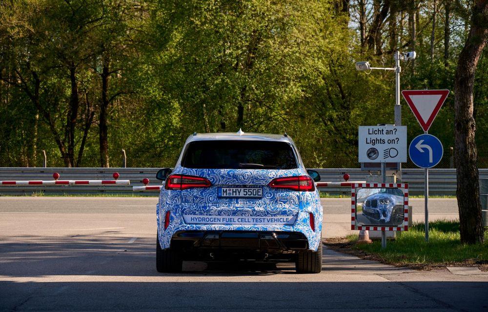 BMW a început testele cu prototipul i Hydrogen Next, un X5 electric alimentat cu hidrogen - Poza 13