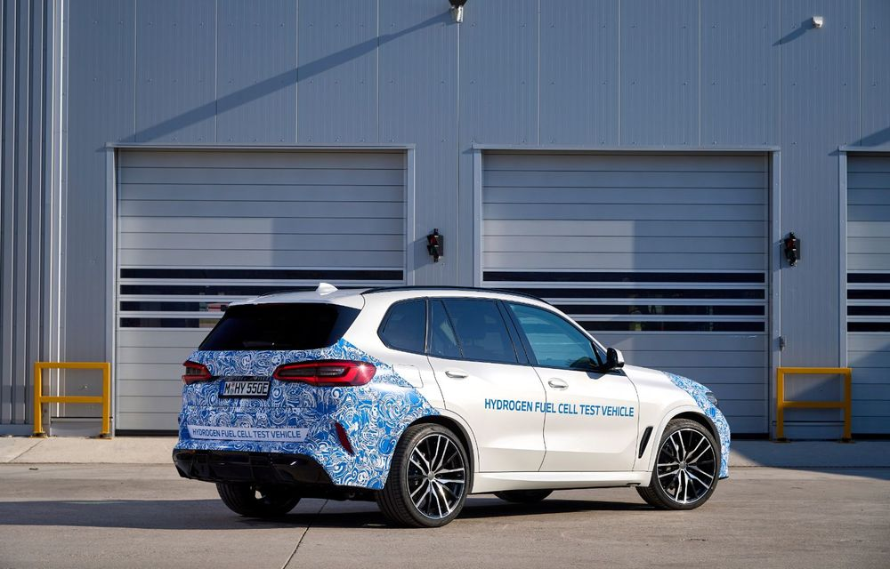 BMW a început testele cu prototipul i Hydrogen Next, un X5 electric alimentat cu hidrogen - Poza 12