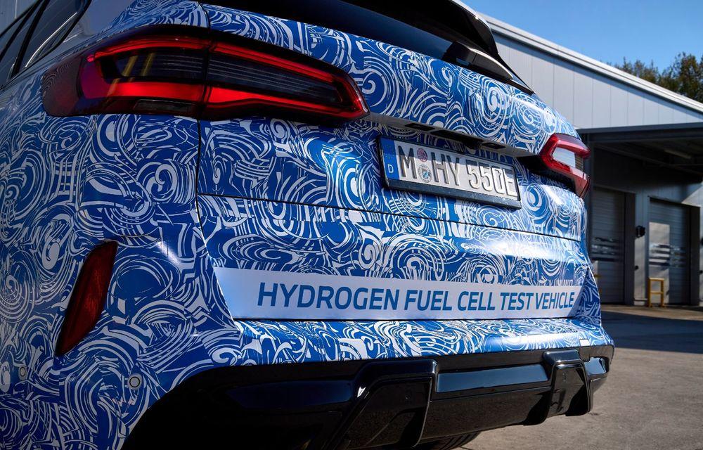 BMW a început testele cu prototipul i Hydrogen Next, un X5 electric alimentat cu hidrogen - Poza 20
