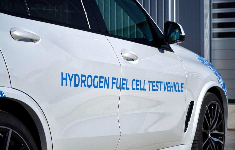 BMW a început testele cu prototipul i Hydrogen Next, un X5 electric alimentat cu hidrogen - Poza 21