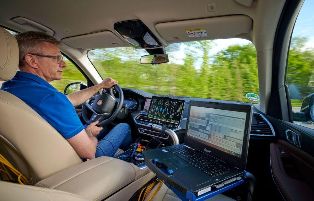 BMW a început testele cu prototipul i Hydrogen Next, un X5 electric alimentat cu hidrogen - Poza 16