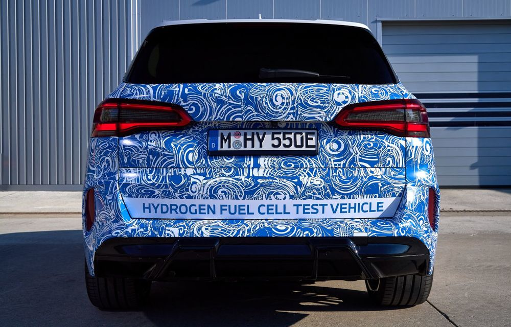 BMW a început testele cu prototipul i Hydrogen Next, un X5 electric alimentat cu hidrogen - Poza 15