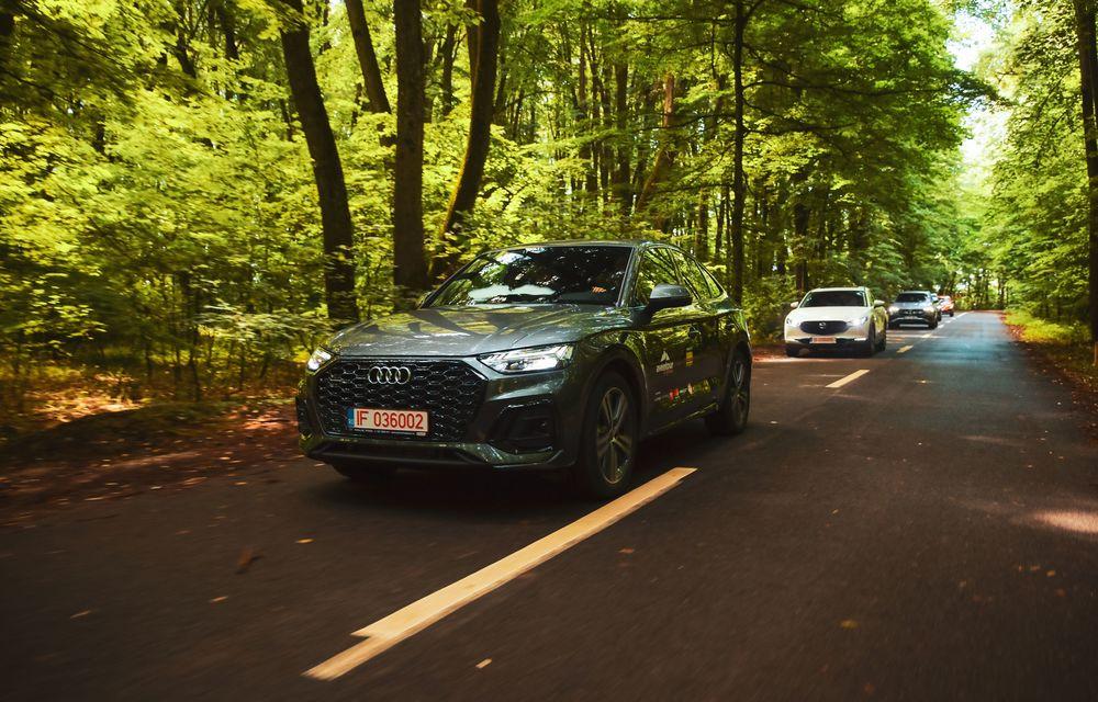 Cum a fost în #Aventour la feminin by Textar: impresii de la bordul lui Audi Q5 Sportback - Poza 11