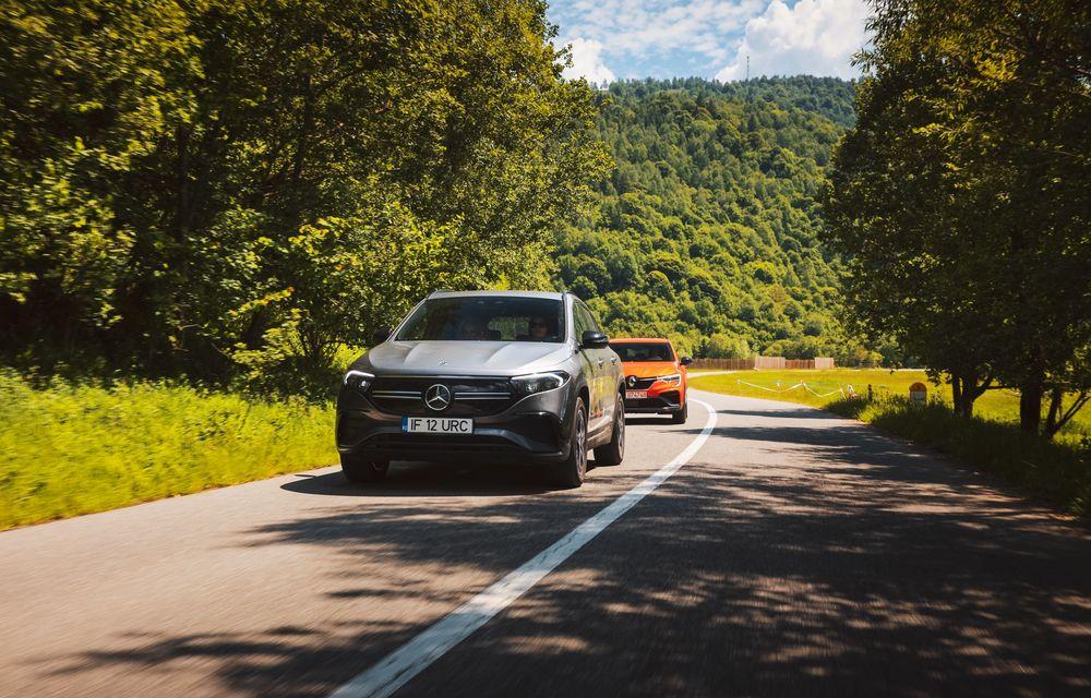 Cum a fost în #Aventour la feminin by Textar: impresii de la bordul lui Mercedes-Benz EQA - Poza 24