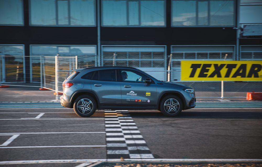 Cum a fost în #Aventour la feminin by Textar: impresii de la bordul lui Mercedes-Benz EQA - Poza 28