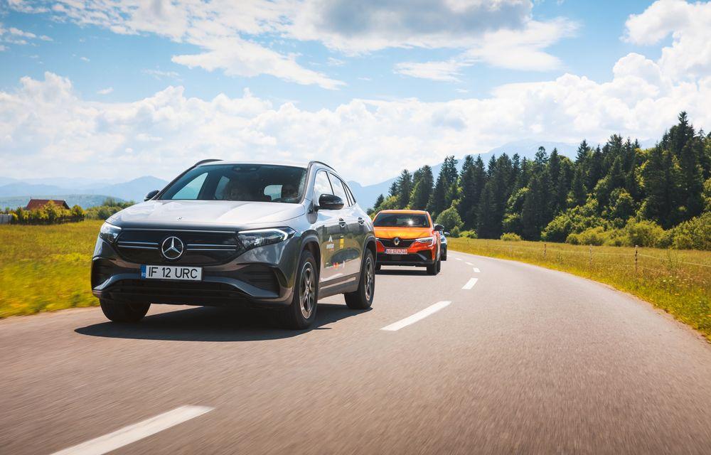 Cum a fost în #Aventour la feminin by Textar: impresii de la bordul lui Mercedes-Benz EQA - Poza 27