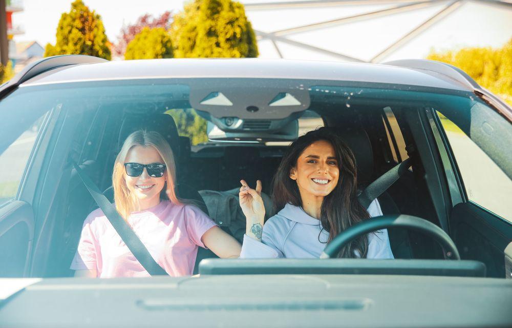 Cum a fost în #Aventour la feminin by Textar: impresii de la bordul lui Mercedes-Benz EQA - Poza 5
