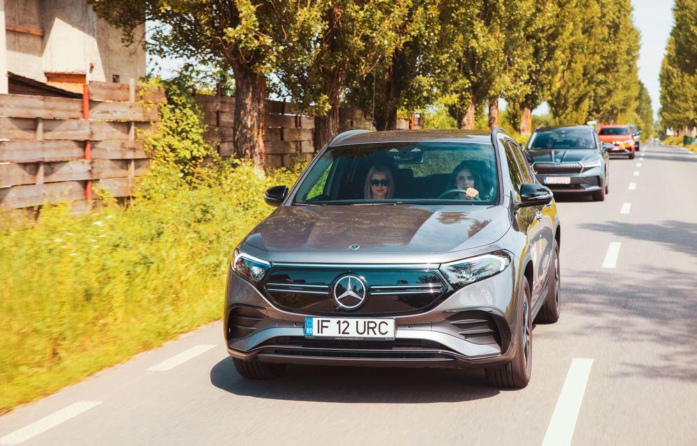 Cum a fost în #Aventour la feminin by Textar: impresii de la bordul lui Mercedes-Benz EQA - Poza 6
