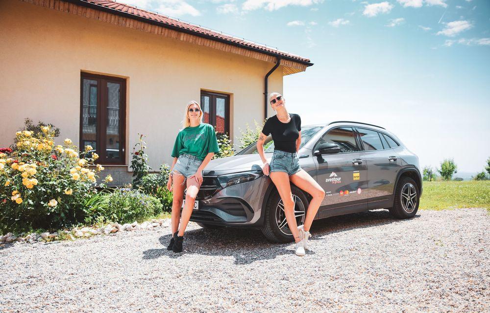 Cum a fost în #Aventour la feminin by Textar: impresii de la bordul lui Mercedes-Benz EQA - Poza 52