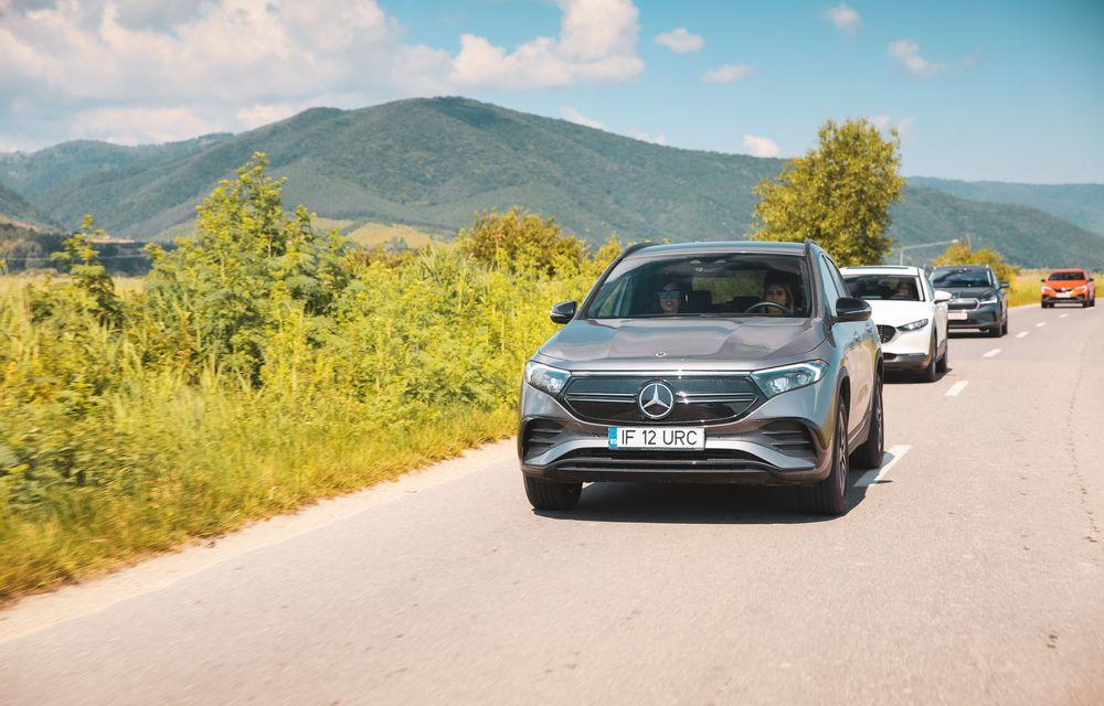 Cum a fost în #Aventour la feminin by Textar: impresii de la bordul lui Mercedes-Benz EQA - Poza 33
