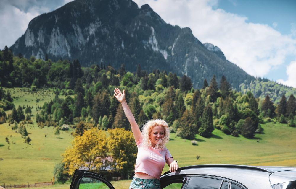Cum a fost în #Aventour la feminin by Textar: impresii de la bordul lui Mercedes-Benz EQA - Poza 34