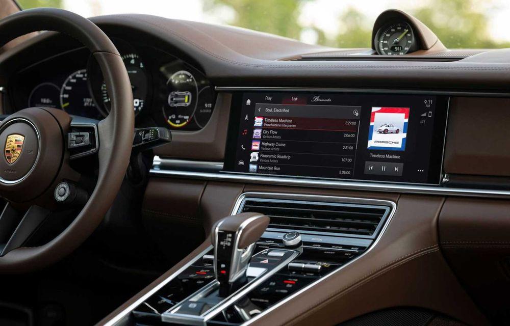 Sistemul multimedia al germanilor de la Porsche primește o nouă versiune: interfață regândită și Android Auto - Poza 5