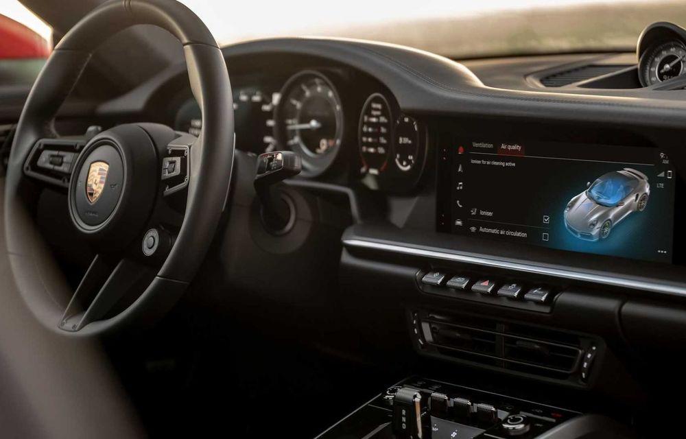 Sistemul multimedia al germanilor de la Porsche primește o nouă versiune: interfață regândită și Android Auto - Poza 3