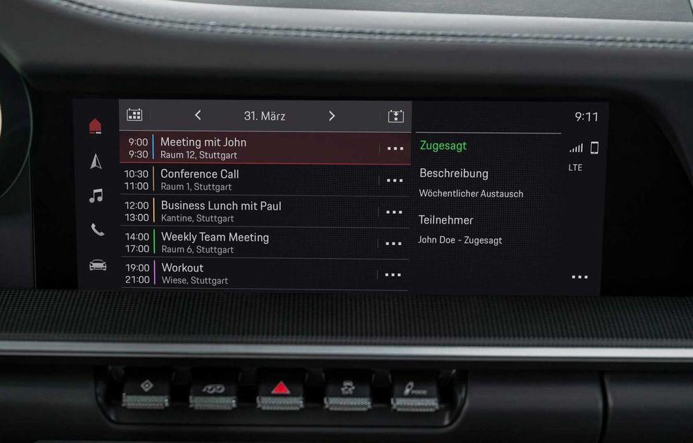 Sistemul multimedia al germanilor de la Porsche primește o nouă versiune: interfață regândită și Android Auto - Poza 10